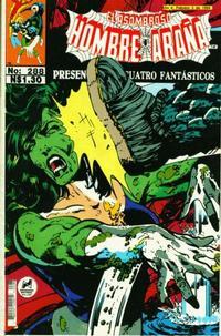 Cover Thumbnail for El Asombroso Hombre Araña Presenta (Novedades, 1988 series) #288