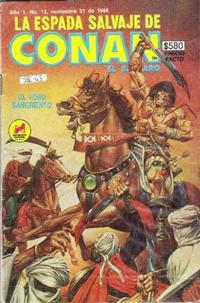 Cover Thumbnail for La Espada Salvaje de Conan el Bárbaro (Novedades, 1988 series) #12