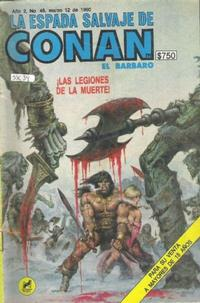 Cover Thumbnail for La Espada Salvaje de Conan (Novedades, 1988 series) #46