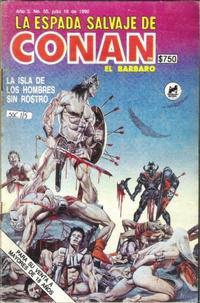 Cover Thumbnail for La Espada Salvaje de Conan el Bárbaro (Novedades, 1988 series) #55