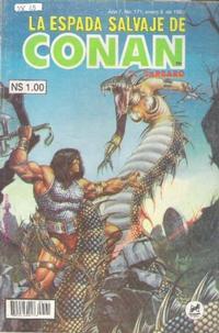 Cover Thumbnail for La Espada Salvaje de Conan (Novedades, 1988 series) #171