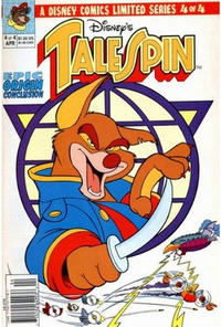 Cover Thumbnail for TaleSpin limited series (Disney, 1991 series) #4