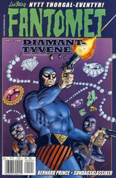 Cover for Fantomet (Hjemmet / Egmont, 1998 series) #2/2008