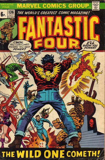 Cover for Fantastic Four (Marvel, 1961 series) #136 [Regular Edition]