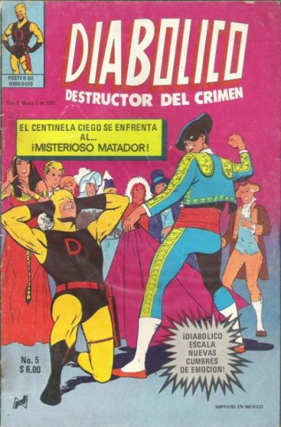Cover for Diabolico (Novedades, 1981 series) #5