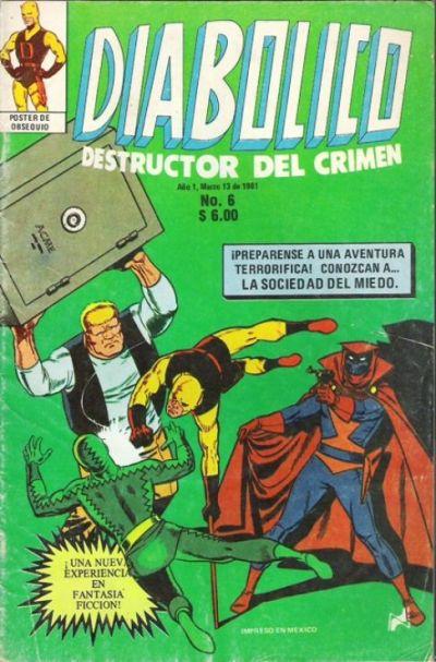 Cover for Diabolico (Novedades, 1981 series) #6