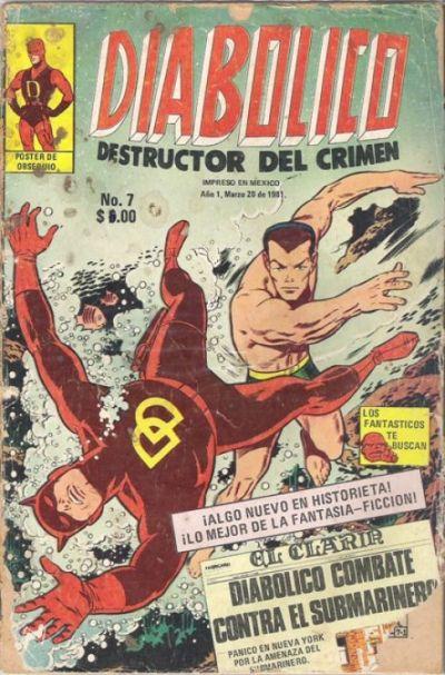 Cover for Diabolico (Novedades, 1981 series) #7
