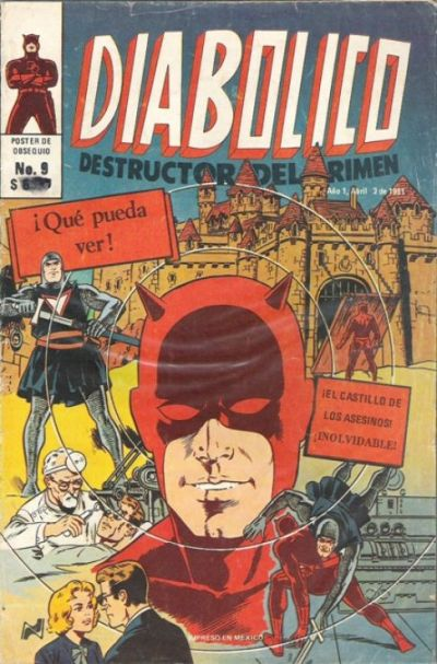 Cover for Diabolico (Novedades, 1981 series) #9