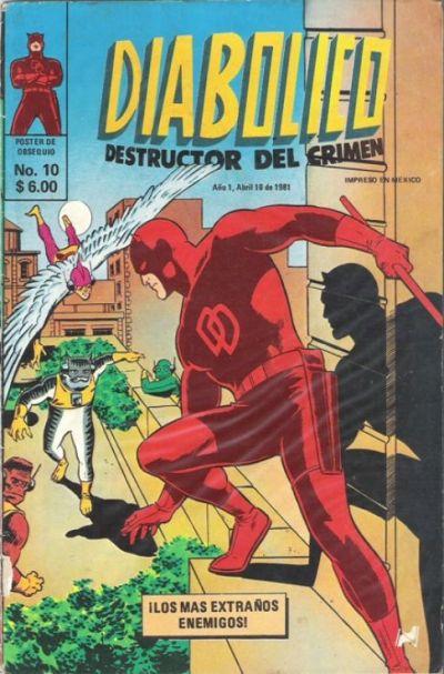 Cover for Diabolico (Novedades, 1981 series) #10