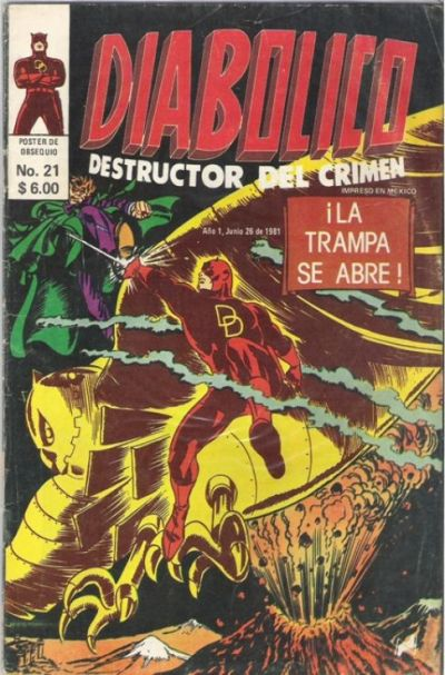 Cover for Diabolico (Novedades, 1981 series) #21