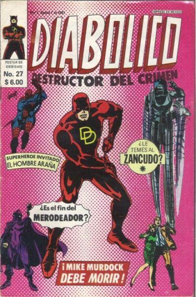 Cover for Diabolico (Novedades, 1981 series) #27