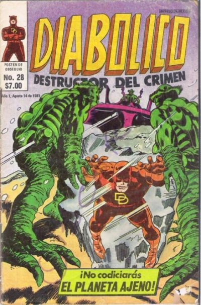 Cover for Diabolico (Novedades, 1981 series) #28
