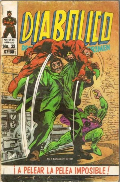 Cover for Diabolico (Novedades, 1981 series) #32
