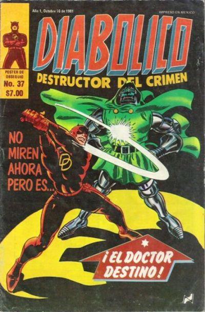 Cover for Diabolico (Novedades, 1981 series) #37