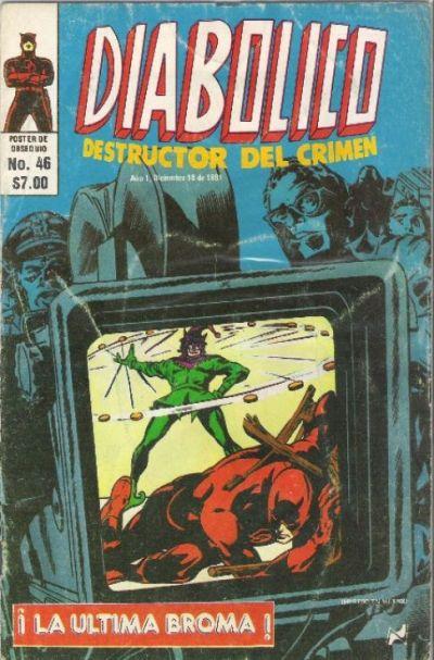 Cover for Diabolico (Novedades, 1981 series) #46