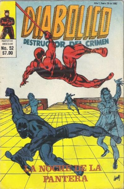 Cover for Diabolico (Novedades, 1981 series) #52