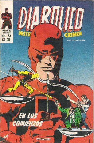 Cover for Diabolico (Novedades, 1981 series) #53