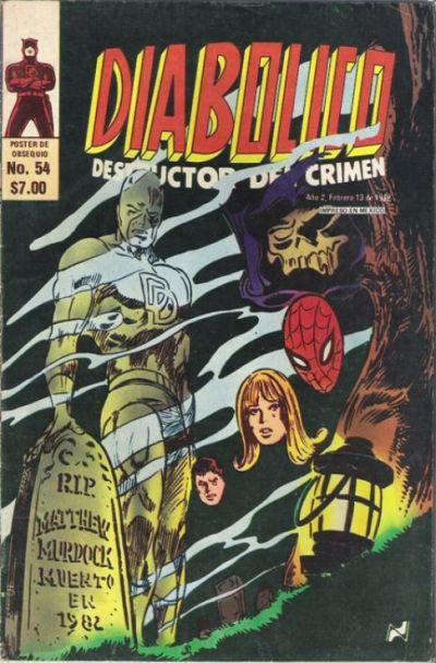 Cover for Diabolico (Novedades, 1981 series) #54