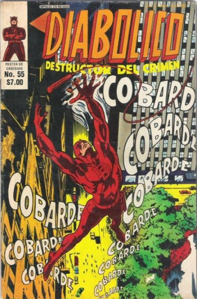 Cover for Diabolico (Novedades, 1981 series) #55