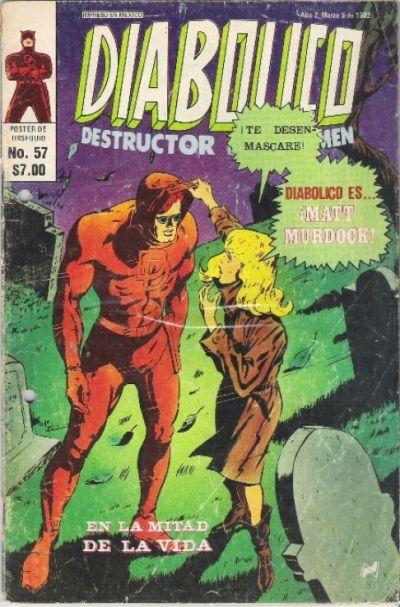 Cover for Diabolico (Novedades, 1981 series) #57