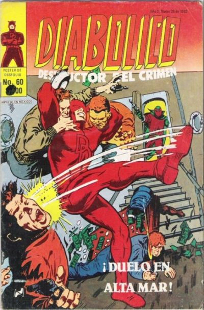 Cover for Diabolico (Novedades, 1981 series) #60