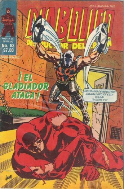 Cover for Diabolico (Novedades, 1981 series) #63