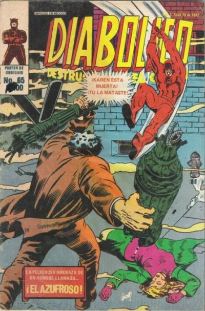 Cover for Diabolico (Novedades, 1981 series) #65