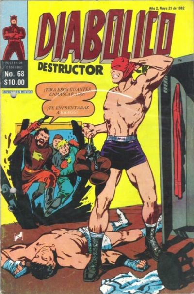 Cover for Diabolico (Novedades, 1981 series) #68