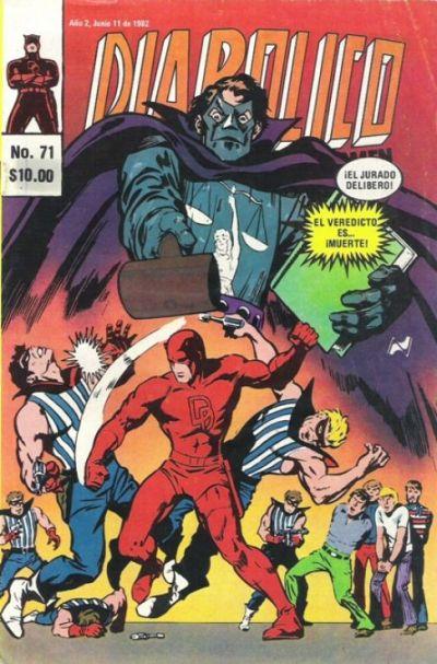 Cover for Diabolico (Novedades, 1981 series) #71