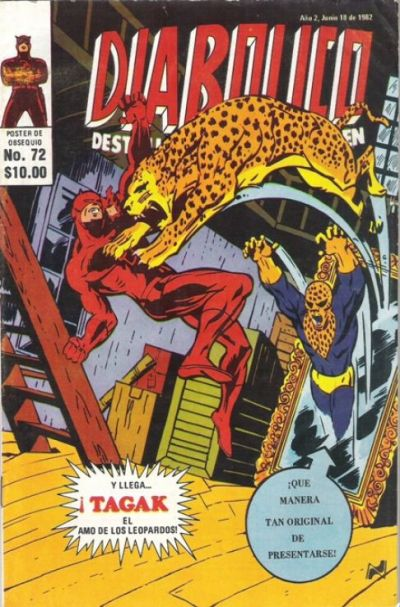 Cover for Diabolico (Novedades, 1981 series) #72