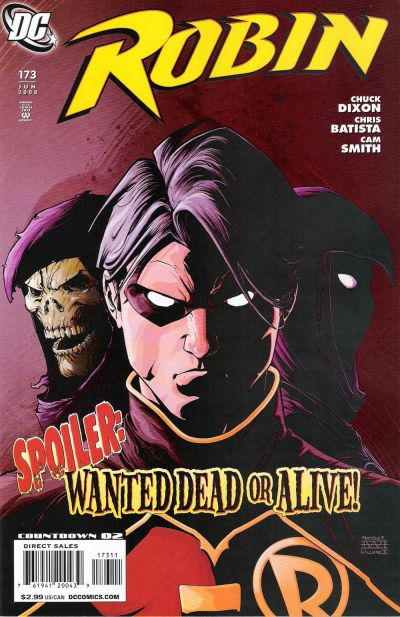 Cover for Robin (DC, 1993 series) #173