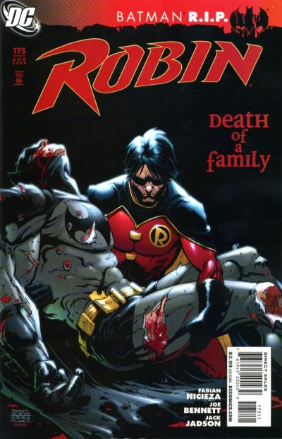 Cover for Robin (DC, 1993 series) #175