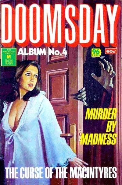 Cover for Doomsday Album (K. G. Murray, 1977 series) #4