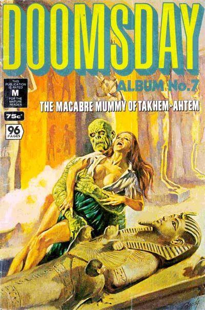 Cover for Doomsday Album (K. G. Murray, 1977 series) #7