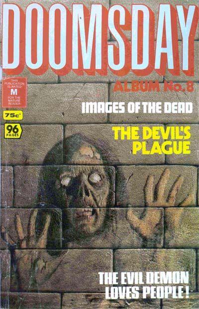 Cover for Doomsday Album (K. G. Murray, 1977 series) #8