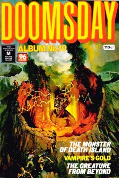 Cover for Doomsday Album (K. G. Murray, 1977 series) #10