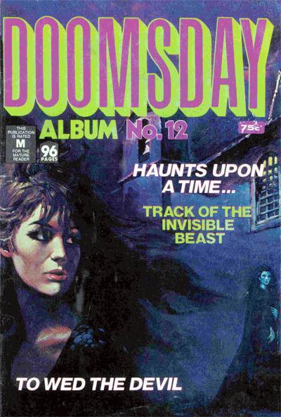 Cover for Doomsday Album (K. G. Murray, 1977 series) #12