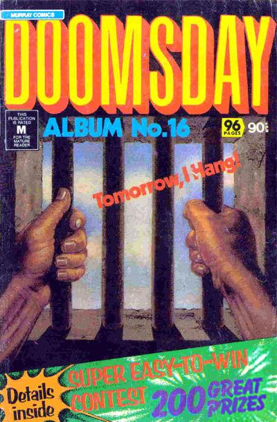 Cover for Doomsday Album (K. G. Murray, 1977 series) #16