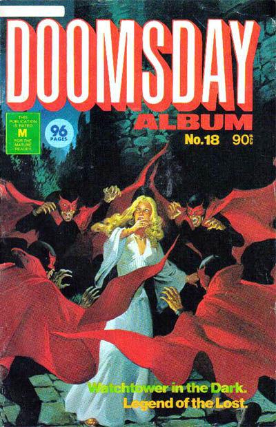 Cover for Doomsday Album (K. G. Murray, 1977 series) #18