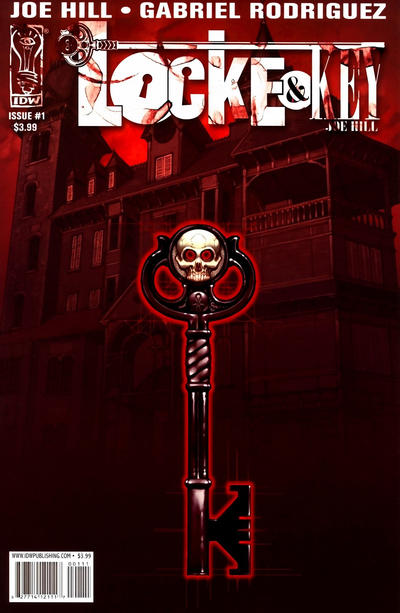 Cover for Locke & Key (IDW, 2008 series) #1