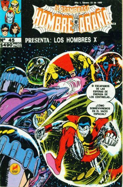 Cover for El Asombroso Hombre Araña Presenta (Novedades, 1988 series) #45