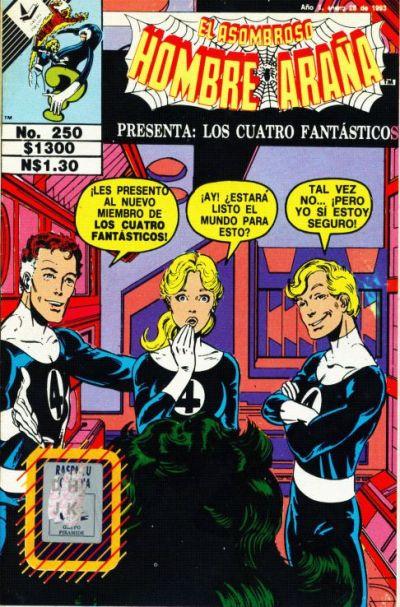 Cover for El Asombroso Hombre Araña Presenta (Novedades, 1988 series) #250