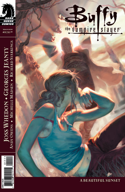 Cover for Buffy the Vampire Slayer Season Eight (Dark Horse, 2007 series) #11 [Georges Jeanty Cover]