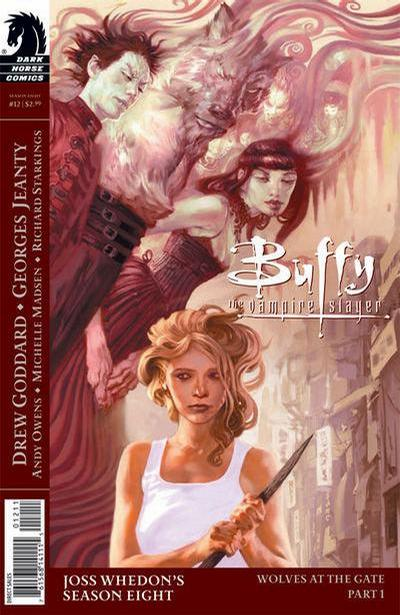 Cover for Buffy the Vampire Slayer Season Eight (Dark Horse, 2007 series) #12 [Jo Chen Cover]