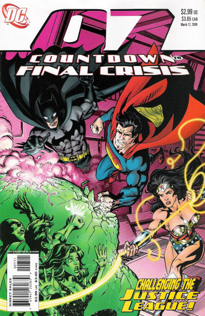 Cover for Countdown (DC, 2007 series) #7
