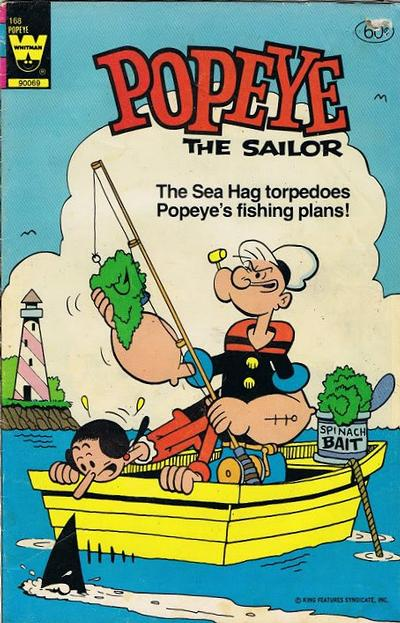 Cover for Popeye the Sailor (Western, 1978 series) #168