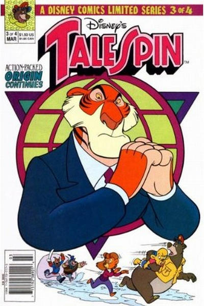 Cover for TaleSpin limited series (Disney, 1991 series) #3