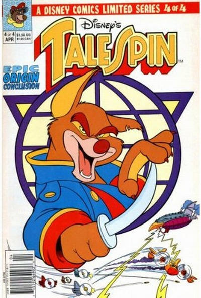 Cover for TaleSpin limited series (Disney, 1991 series) #4