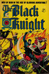 Cover for The Black Knight (Toby, 1953 series) #1