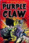 Cover for The Purple Claw (Toby, 1953 series) #2